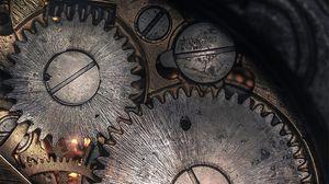Превью обои механизм, зубчатое колесо, детали, шестерня, шестеренка