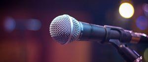 Превью обои микрофон, звук, музыка