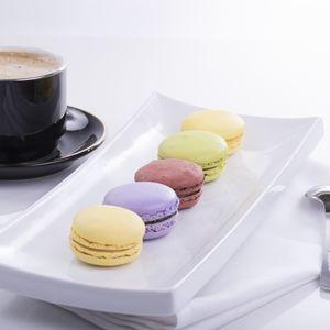 Превью обои миндальное печенье, macaron, кофе, посуда