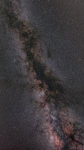 Превью обои млечный путь, звезды, блики, небо, космос