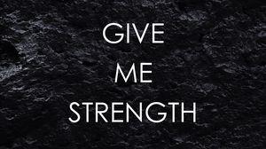 Превью обои мотивация, сила, терпение, надпись, фраза