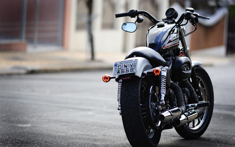 1440x900 Обои moto, харлей, harley davidson 883