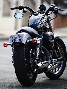 Превью обои moto, харлей, harley davidson 883