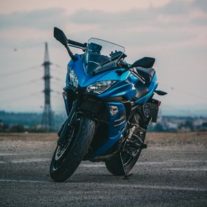 Превью обои мотоцикл, байк, стильный