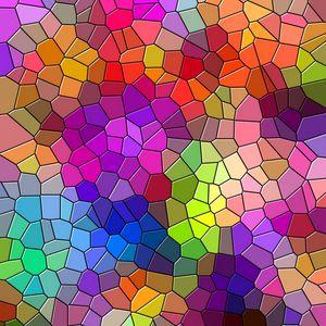 Превью обои мозаика, разноцветный, текстура, узоры