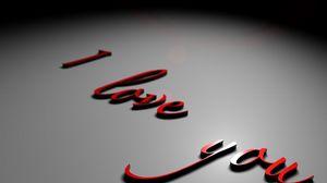 Превью обои надпись, поверхность, признание, любовь