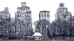 Превью обои нью-йорк, центральный парк, гарден стрит