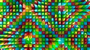 Превью обои объем, формы, острый, треугольник, выпуклый
