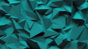 Превью обои объем, треугольники, формы