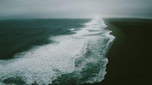 Превью обои океан, море, берег, прибой