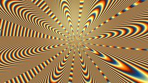 Превью обои оптическая иллюзия, вращение, линии, волнистый