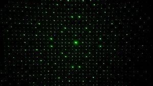 Превью обои оптическая иллюзия, точки, свечение, зеленый, темный
