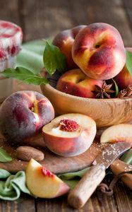 Превью обои персики, пряности, специи