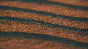 Превью обои песок, волны, поверхность, макро, коричневый