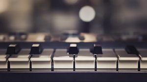 Превью обои пианино, музыка, клавиши, музыкальный инструмент