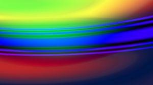 Превью обои пятна, полосы, размытость, абстракция, разноцветный