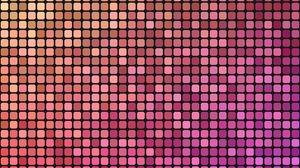 Превью обои пиксели, градиент, плитка