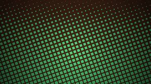 Превью обои пиксели, квадраты, текстура, зеленый