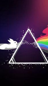 Превью обои pink floyd, pokemon, яркий, логотип