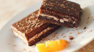 Превью обои пирожное, десерт, шоколад