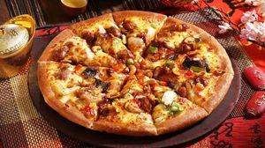 Превью обои пицца, выпечка, аппетитно