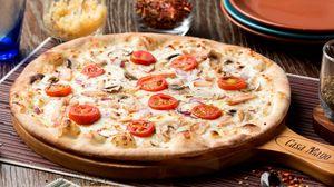 Превью обои пицца, выпечка, мясо