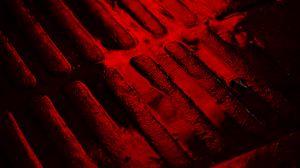 Превью обои плитка, влага, красный, рельеф, темный