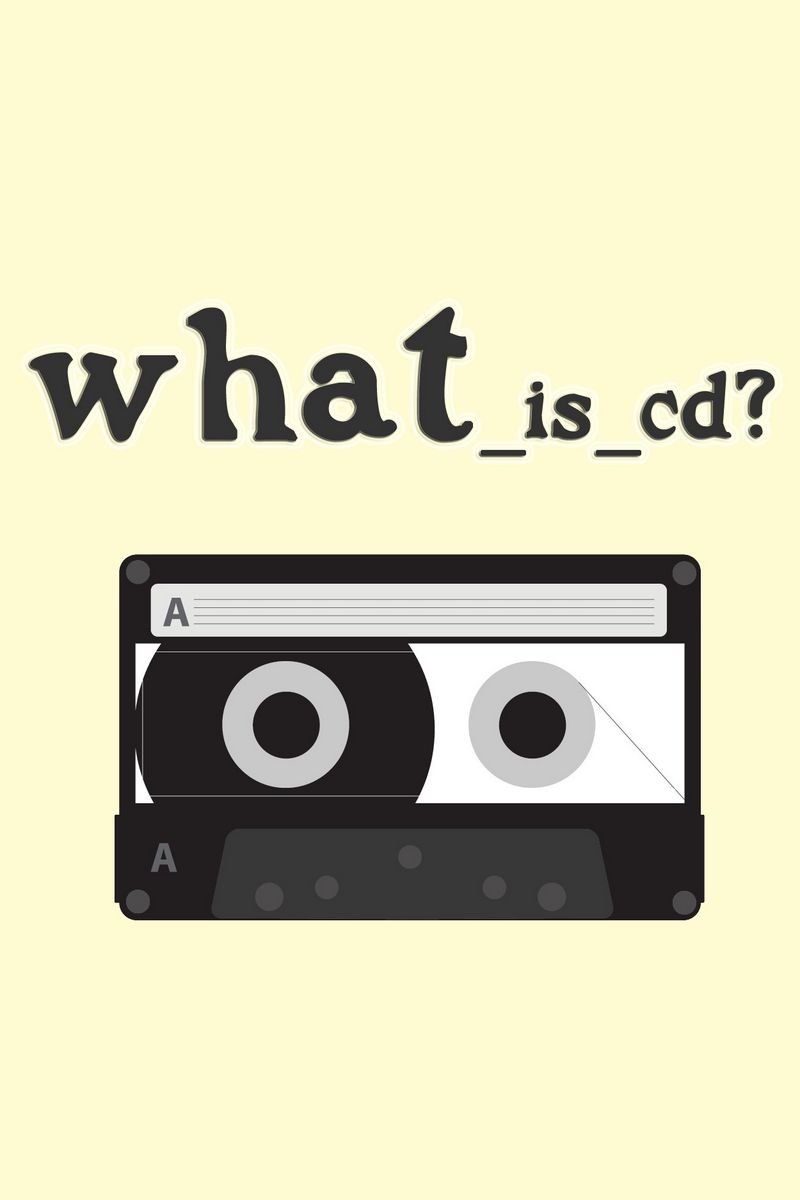 800x1200 Обои плёнка, жёлтый, кассета, вопрос