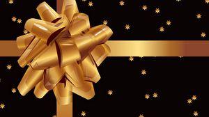 Превью обои подарок, бант, коробка, украшение