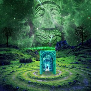 Превью обои портал, тотем, воображение, фантазия, фотошоп