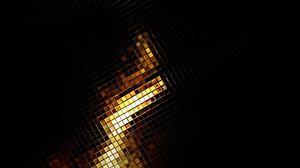Превью обои поверхность, золото, блеск, тень