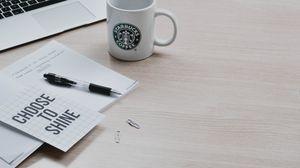 Превью обои позитив, мотивация, надпись, ручка, macbook