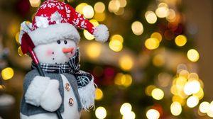 Превью обои праздник, ёлка, игрушка, новый год
