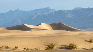 Превью обои пустыня, холмы, песок, природа