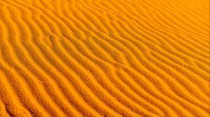 Превью обои пустыня, песок, волнистый, текстура