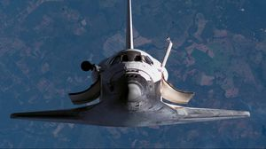 Превью обои ракета, полет, пространство