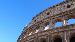 Превью обои рим, италия, колизей, архитектура