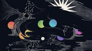 Превью обои рисунок, разноцветный, круги, яркий