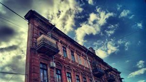Превью обои россия, одесса, russian, odessa, здание, небо