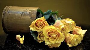 Превью обои розы, букет, цветы