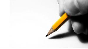 Превью обои рука, карандаш, рисунок, эскиз