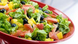 Превью обои салат, овощи, вкусно, диетическое
