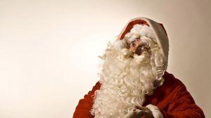 Превью обои санта клаус, рождество, праздник, мешок