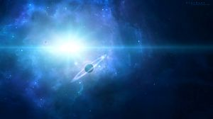 Превью обои сатурн, планета, космос, галактика, вселенная