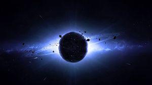 Превью обои сатурн, планета, космос, вселенная
