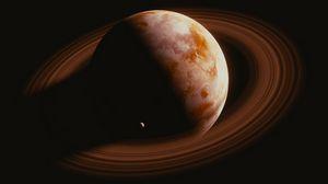 Превью обои сатурн, планета, космос, кольца