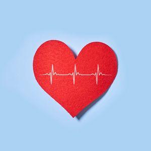 Превью обои сердечко, бумага, пульс, линия, любовь