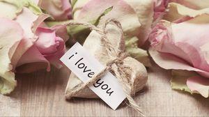Превью обои сердце, любовь, признание, веревка