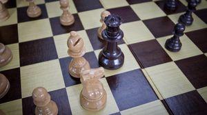Превью обои шахматы, игра, доска, фигуры
