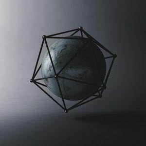 Превью обои шар, икосаэдр, фигуры, геометрия